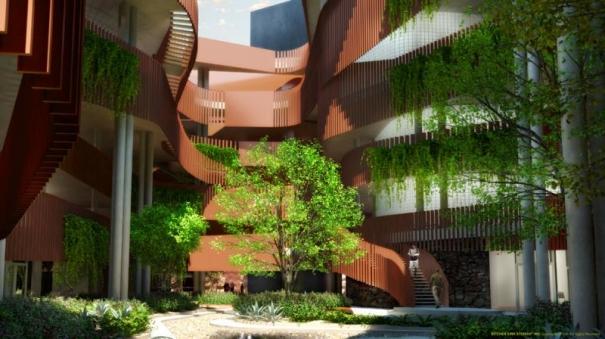 Environmental And Natural Resources Building University Of Arizona