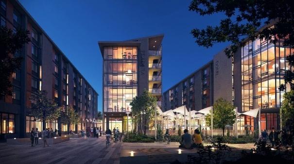 University of California, Irvine Awards Hensel Phelps ... Uc Irvine Campus Dorms