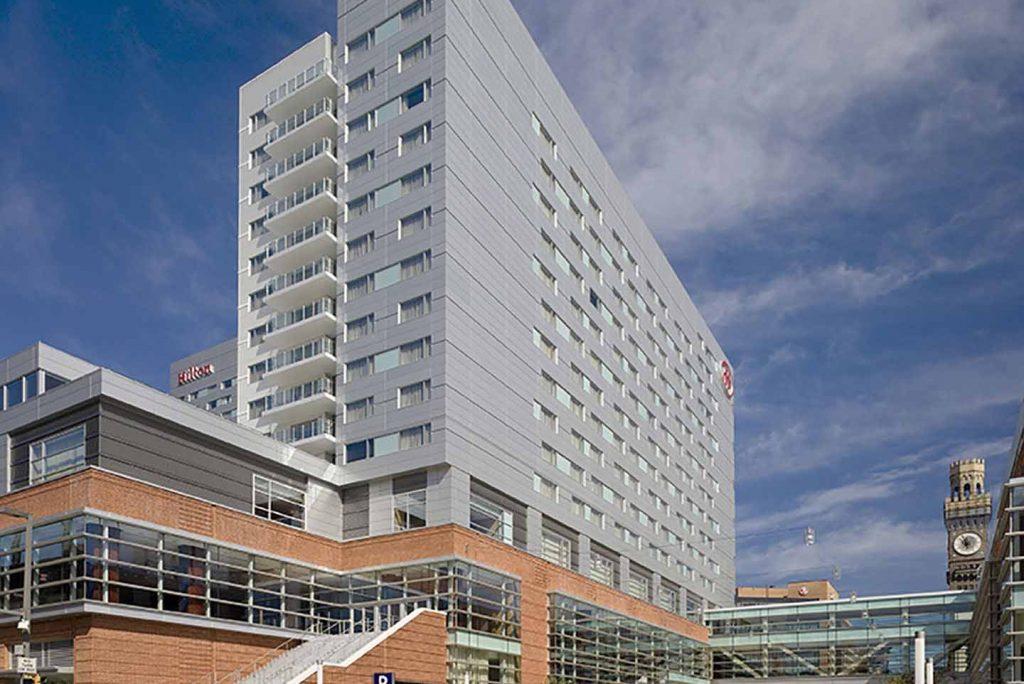 Hilton Baltimore Convention Center Hotel Hensel Phelps