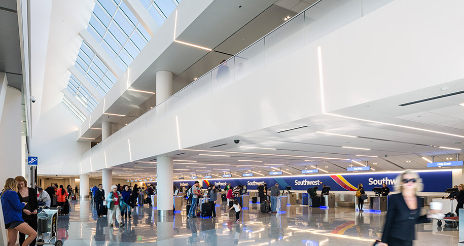 Lax Southwest Airlines Terminal 1 Modernization Program