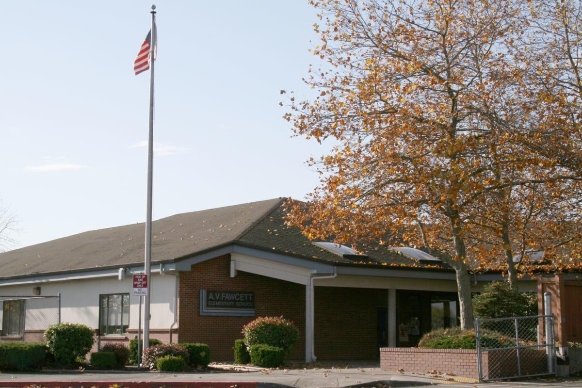 Existing Fawcett Elementary School